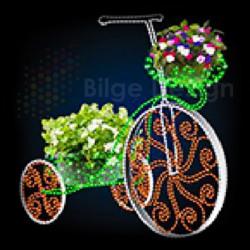 Led Işıklı Bisiklet