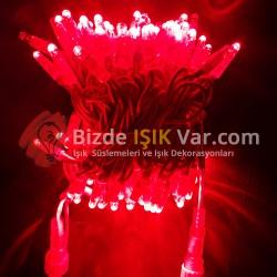 Eklemeli Led Işık Kırmızı IP65 Kırmızı Kablolu
