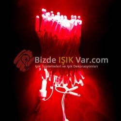 Eklemeli Led Işık Kırmızı Flaşlı IP65