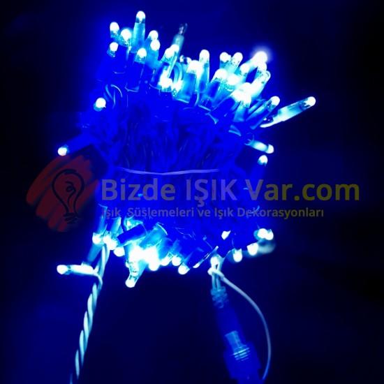 Eklemeli Led Işık Mavi IP65 Mavi Kablolu