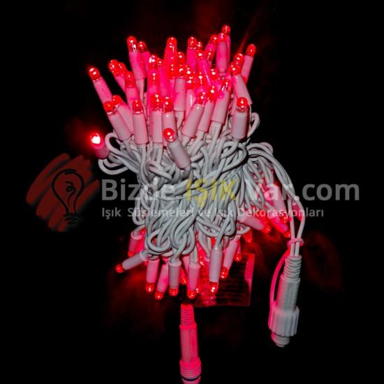 Eklemeli Led Işık Kırmızı IP65 1.Kalite Patlayan Işıklı