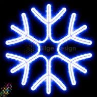 Led Işıklı Kar tanesi 60 cm Beyaz