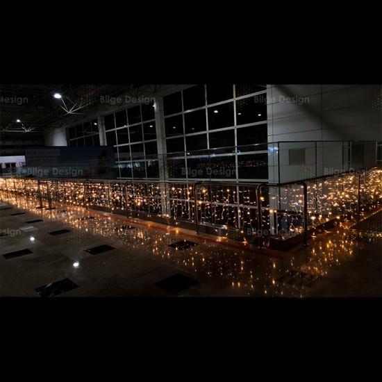 Saçak Işık 3x1 İç Mekan Gün Işığı IP44