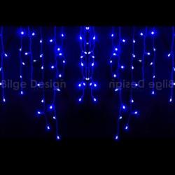 Saçak Işık 3,5x1 Dış Mekan Mavi IP65