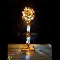 Led Işıklı Şeker 175cm