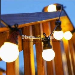 Düğün Led Ampullu Işık Gün Işığı
