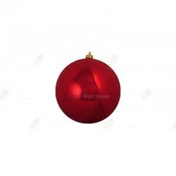 10cm Yılbaşı Topu Kırmızı