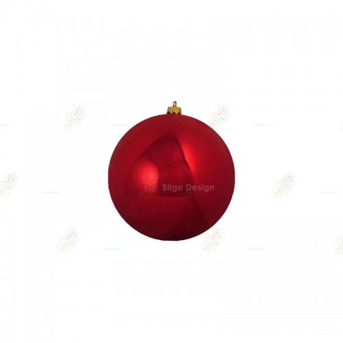 15cm Yılbaşı Topu Kırmızı
