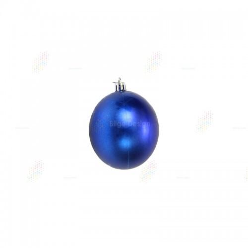 20cm Yılbaşı Topu Mavi
