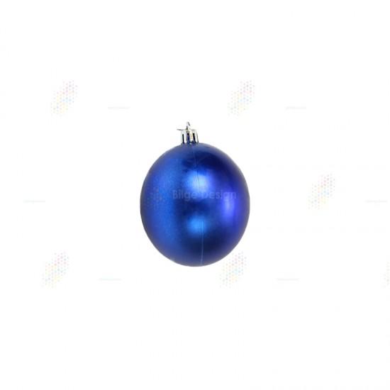 15cm Yılbaşı Topu Mavi