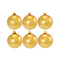 8cm Yılbaşı Topu Gold (6 Adet)
