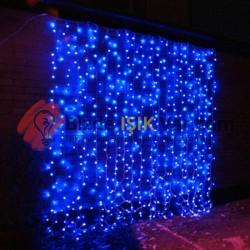 Led Perde 2x3 İç Mekan Mavi IP44
