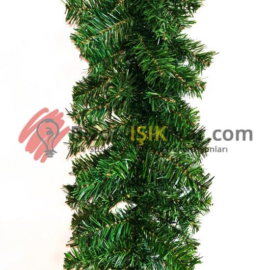 Garland Yılbaşı Süsü ( Yeşil ) 240 Dallı